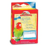 L/M Animal Farms BLM02914 Absorbent Bird Cage Liner by L & M Animal