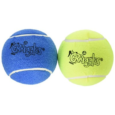 Grriggles Classic Dog Tennis Ball Toy, 5-Inch, by Grriggles