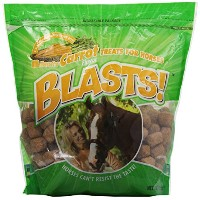 Manna Pro 0593557338 Carrot Flavor Blast Treats for Horses, 3-Pound by Manna Pro