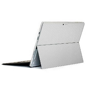 wraplus for Surface Pro / Pro 4 [シルバーカーボン] スキンシール 背面 カバー フィルム ケース