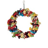 Paradise Toys Large Cotton Preening Ring, 12-Inch W by 14-Inch L by Paradise Toys