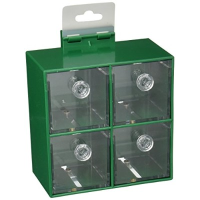 Caitec 734 Four Big Foraging Boxes, 6 in. x 6 in. Cage Mount