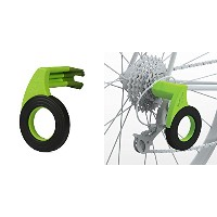 Bopworx Rear Derailleur Guard - Bike Travel and Storage Protection [並行輸入品]