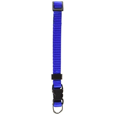 Majestic Pet 788995411277 8-12 in. Adjustable Safety Cat Collar Blue