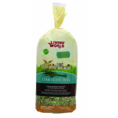 Living World Timothy Hay, 20-Ounce by Living World