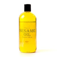 Mystic Moments | Sesame Organic Carrier Oil - 1 Litre - 100% Pure