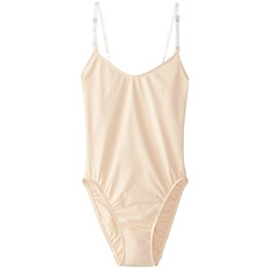Capezio nude overs & unders dance body stocking leotard (adult med 8-10) by Capezio