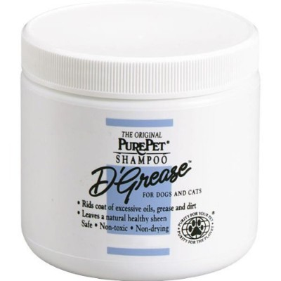 PurePet D-Grease Dog and Cat Shampoo, 40-Ounce by Pure Pet