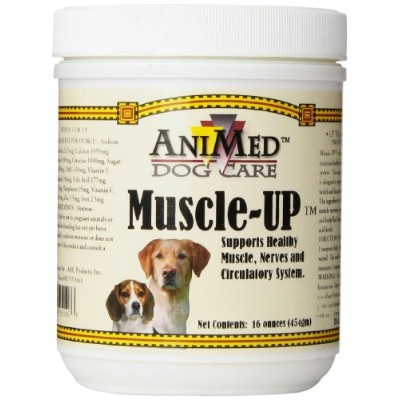 AHC Products Muscle Up Powder for Dogs, 16-Ounce by AniMed