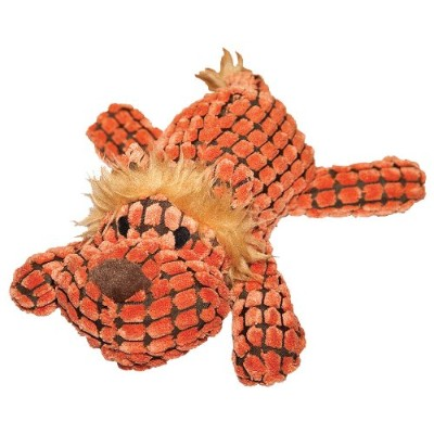 Patchwork Pet Waffle Wags Lion 14-Inch Squeak Toy for Dogs by Patchwork Pet