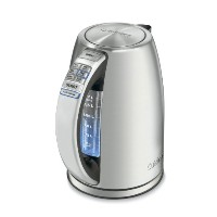 Cuisinart CPK-17 PerfecTemp 1.7-Liter Stainless Steel Cordless Electric Kettle  クイジナートコードレス電気ヤカンポット...