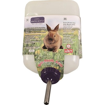 Lixit Corporation SLX0670 All Weather Rabbit Water Bottle, 64-Ounce by Lixit