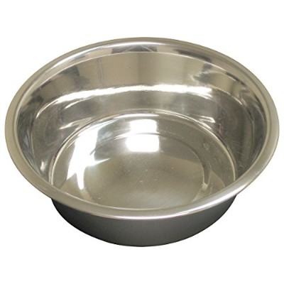 QT Dog Standard Stainless Steel Food Bowl, 1/2 pint by QT Dog
