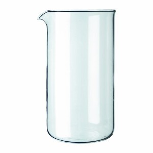 Bodum Spare Glass Carafe for French Press Coffee Maker, 8-Cup, 1.0-Liter, 34-Ounce by Bodum