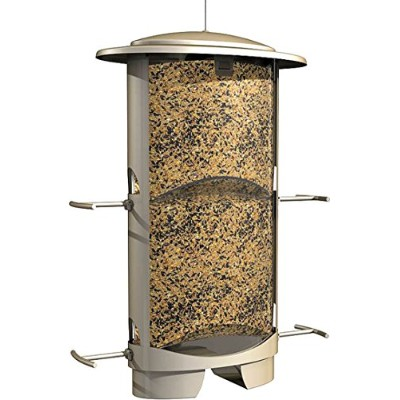 Squirrel X Squirrel Proof Bird Feeder-SQUIRREL X-1 BIRD FEEDER (並行輸入品)