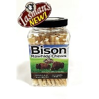 Tasman's Natural Pet Small Bison Twisters Jar by Tasman's Natural Pet