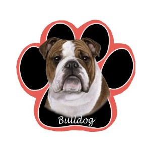 Bulldog Dog Paw Non-Slip Mousepad by E&S Pets