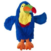 Doggles 2-Liter Toucan Dog Toy, Blue by Doggles