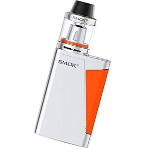 SMOK H-PRIV MINI KIT 50W スターターキット Brit Beast タンク 3.5ml付き (Silver×Orange)