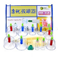 Cupping Kit カッピング 吸い玉カップ セット 脂肪吸引 6種 12個セット