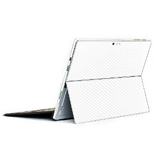 wraplus for Surface Pro / Pro 4 【ホワイトカーボン】 スキンシール 側面 背面 カバー フィルム 保護 ケース