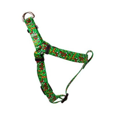 Yellow Dog Design SI-CS101S Christmas Stockings Step-In Harness - Small