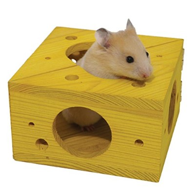 Sleep 'n' Play Cheese - Hamster & Small Animal Toy by Rosewood Pet