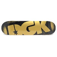 DGK DECK ディージーケー デッキ TEAM STENCIL PRICEPOINT BLACK/GOLD 8.0