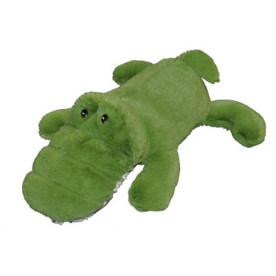Patchwork Pet Toughy Wuffies Alligator 15-Inch Squeak Toy for Dogs by Patchwork Pet