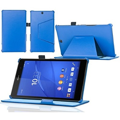 Navitech London Sony Xperia Z4 Tablet/ Sony Xperia Tablet Z3 Compact専用手帳型折りたたみスタンドケース (ケース内でもタブレットの全...
