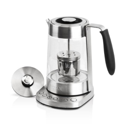SMAL WK-0816 Temp Programmable Combined Tea Maker and Electric Kettle with Tea Filter Lid, 1.7...