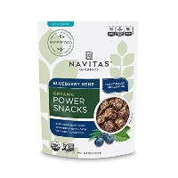 Navitas Naturals Organic Blueberry Hemp Superfood Snack , 8-Ounce Pouches [並行輸入品]