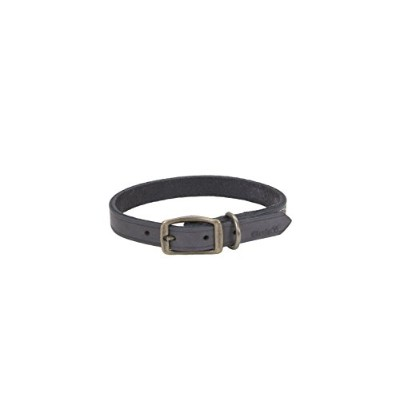 Coastal Pet Products Circle T Rustic Leather Town Dog Collar, 5/8 x 16, Slate Grey by Coastal Pet