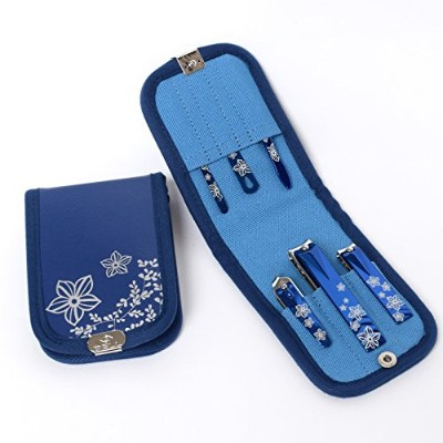 BELL Manicure Sets BM-360 ポータブル爪の管理セット 爪切りセット 高品質のネイルケアセット高級感のある東洋画のデザイン Portable Nail Clippers...