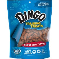 Dingo Soft & Chewy Training Treats, 360-Count by Dingo
