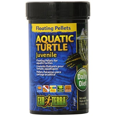 Exo Terra Juvenile Aquatic Turtle Food, 1.5-Ounce by Exo Terra