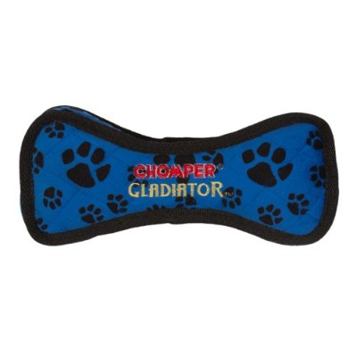 Boss Pet Chomper Gladiator Tuff Bone Toy for Pets, Assorted Colors by Boss Pet
