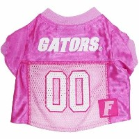 Mirage Pet Products 301-05 PJR-MD Florida Gators Pink Jersey MD