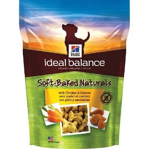 Hill's Ideal Balance Soft-Baked Naturals with Chicken & Carrots Dog Treats, 8 oz bag by Hill's...