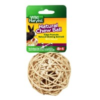 Wild Harvest Natural Chew Ball for Small Animals (P-84128) by Wild Harvest