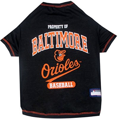 Baltimore Orioles Baseball Dog Shirt XS