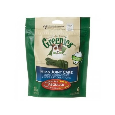 Greenies Hip & Joint Care Canine Oral Dental Chews Treats for Dogs Large 18oz