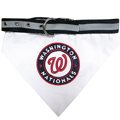 Washington Nationals Dog Bandana Collar Medium