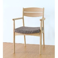 ISSEIKI DINING CHAIR ARM ダイニングチェアアーム付き ナチュラル 幅54.5 木製家具 SOUR DINING CHAIR ARM