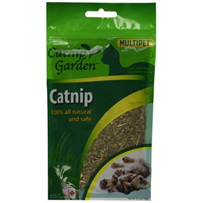 Multipet North American Catnip Gusseted Bag Pegged All Natural Safe .5oz