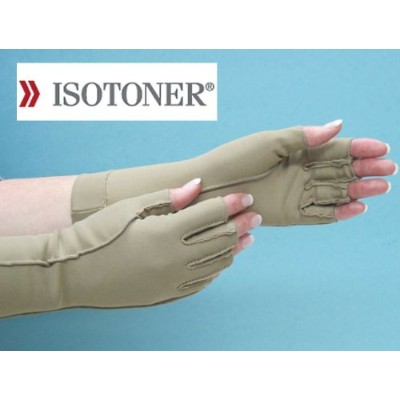 Small Totes Isotoner Therapeutic Open-Finger Gloves by Totes