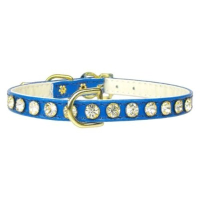 Mirage Pet Products No.16 Dog Collar, Size 8, Blue by Mirage Pet Products [並行輸入品]