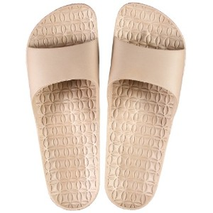 FOOTLIFE home sandals ホームサンダル M(22.5-24.5cm) beige F3888 BE-M
