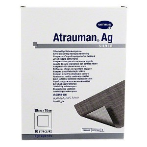 Atrauman AG Ointment Dressings 10cm x 10cm by Paul Hartmann AG