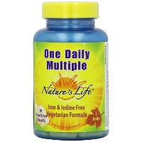海外直送品One Daily Multiple, 90 vcaps by Nature's Life